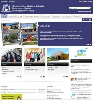 Rockingham Peel Group website homepage
