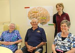 Occupational Therapists helping patients to improve their working memory